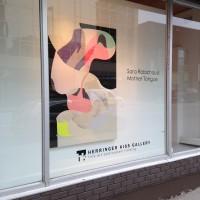 """Mother Tongue"" Herringer Kiss Gallery Calgary 2014"