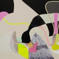 "Pinky Honey 75"" × 105"" 2012"