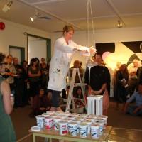 """""""Double Life"""" Ossein Pour Nanaimo Art Gallery 2011"""