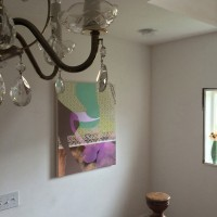 Shear & Seamless – Smooth as Acrylic! in our stairwell