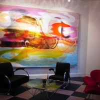 """""""Suspended Elation 8"""" Canvas Lounge Vancouver 2006"""
