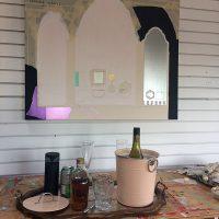 Studio Vanitas in progress & mourning props