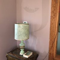 Living Room lamp wall painting
