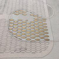 pressed & curled detail